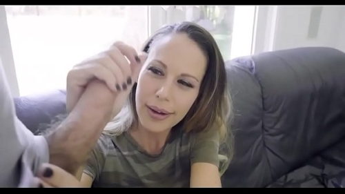 hot mom helps condom size stepson