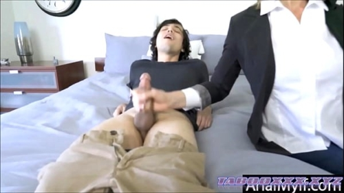 mom fucked in the ass by sons bully